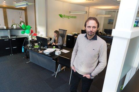 NY TID: Cato Deglum hos Krogsveen Hamar er spent på hva ny eier vil tilføre eiendomsmeglerkjeden.