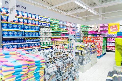 BILLIG: Nok et billigvarehus etablerer seg på Hamar. Fra før av er både Jula og Normal på plass. I tillegg til Nille og de andre billigbutikkene på kjøpesentrene.
