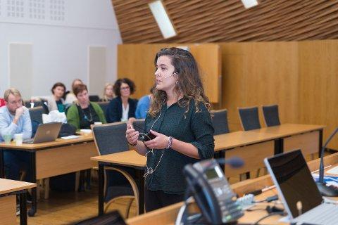ØKT KOMPETANSE: Ane Hedvig Heidrunsdotter fra Likestillingssenteret mener økt kompetanse er viktig for å oppnå kjønn- og seksualitetsmangfold.