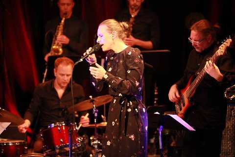 ELEGANT: Ensemble Denada og Torun Eriksen beskrives som jazz med «elegent popestetikk».