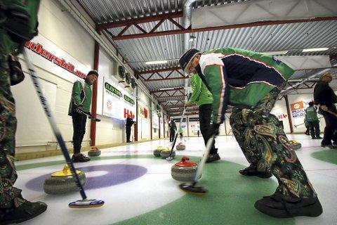 LOKALT NM: Curling-NM på hjemmebane denne helgen.