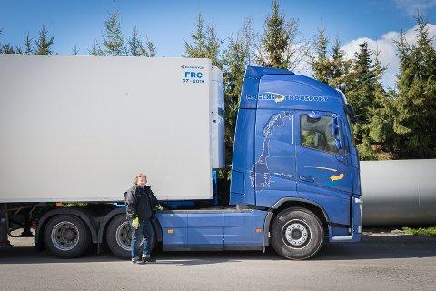 SØKER: Hagen Transport i Hamar er stadig på leting etter sjåfører. Rekrutteringen er vanskelig.