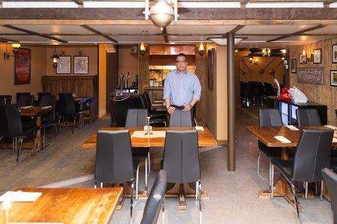 NYÅPNING: David Rajend er kjøkkensjef når Steaks & Ribs åpner dørene.