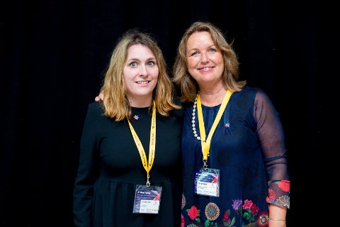 NY TJENESTE: Jurist Camilla Fosse og regionsjef Berit Jevnaker i Kreftforeningen håper å starte opp med juristhjelp for kreftrammede i løpet av oktober.