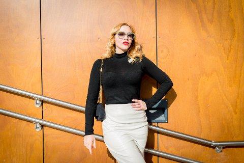 STJERNE: Stephanie van der Strumpf er verdenskjent burlesqueartist.