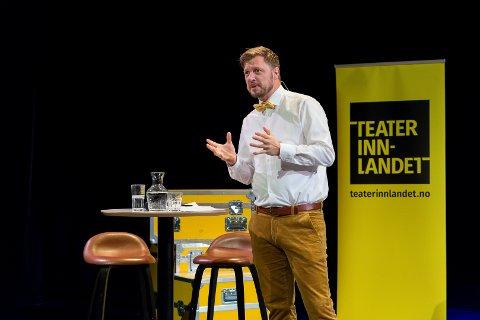 JUBILEUM. Thorleif Linhave Bamle blir teatersjef i jubileumsåret til Teater Innlandet. Han har mange premierer på gang.