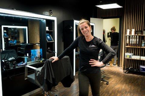 FIN START: Cutters-frisør på Hamar, Ana Denic, forteller om en fin start for frisørkjeden i Hamar.