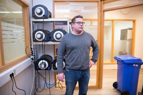NY TEKNOLOGI: Ståle Solberg og Onsite Security forsøker stadig å utvikle overvåkningsteknologien.
