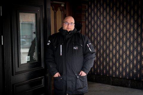 NYE MARKEDER: Kjetil Brenden hos PSS Securitas har måttet tenke kreativt for å finne nye markeder for selskapet.