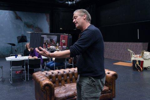FØRST UT: Terje Strømdahl er førstemann ut i Teater Innlandets podkastserie «Teaterfolk».