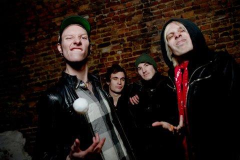 ROCK: Oslo Ess blir et hardslående innslag under Tjuven Musikkfest i juli.