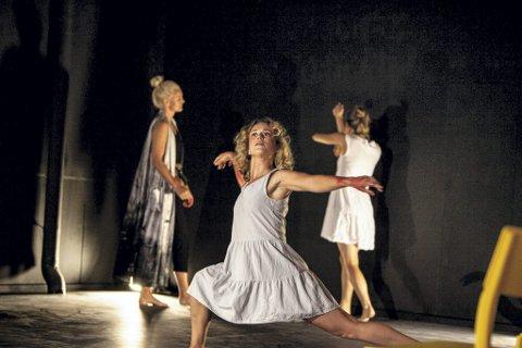 TREDJE GANG: For tredje gang skal dansen, i alle former, hylles i Move Dansefestival.Foto: Fotograf Lise SKjæraasen