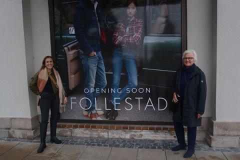 FØRER ARVEN VIDERE: I november åpner Follestad igjen butikk i Hamar og det blir med Birgitte Follestad Vold som daglig leder. Hun er barnebarnet til Brit Grøndahl (tidligere Follestad) som drev butikken sammen med Dag Follestad fram til 1998. Nå blir Brit med som mentor og sparringpartner for barnebarnet.