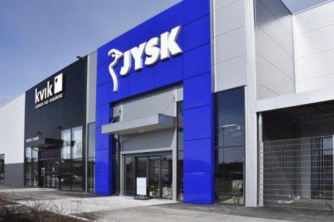 ÅPNER I DAG : I dag åpner Jysk XL i Ikea Handelspark etter at de flyttet ut fra Vika-senteret.