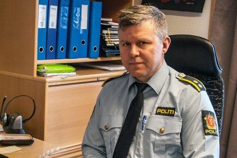 IKKE VANLIG: Etterforskningsleder Bjørn Tore Svendsen sier det er uvanlig at personer i Finnmark forsvinner tilsynelatende sporløst.