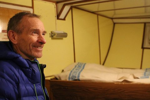 I GAMLE MÅRØY: Steinar Johansen har vært en bauta for byens dugnadsånd gjennom 40 år.
