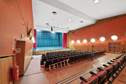 UNIKT: Kinoen sto ferdig på 50-tallet, og rommer mye historie i veggene.