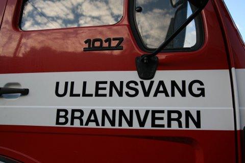 Illustrasjonsfoto av brannbil Ullensvang.