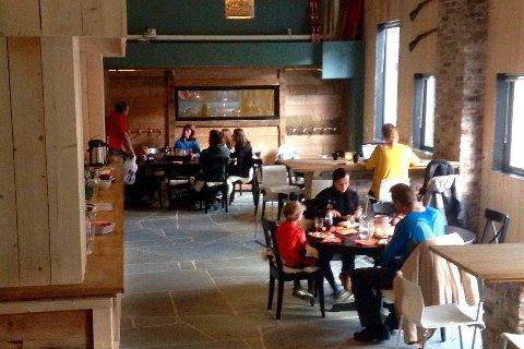 Solfonn Restaurant & Bar: Kjem truleg ikkje til å ta i mot gjestar i vinter. (Arkivfoto)
