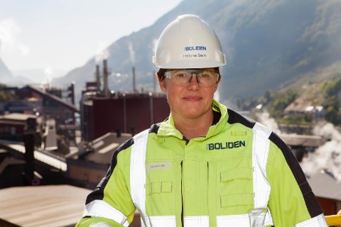 Odda-jenta Helene Seim blir ny toppsjef for sinkverket på Eitrheim.