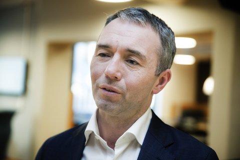 direktør i Sparebankstiftelsen DNB, André Støylen
