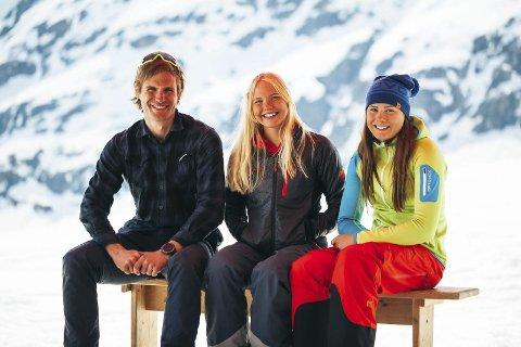Sentrale roller: Tor Berge, fotograf og daglig leder i Norexplore, sammen med Synnøve Medhus og Kamilla Bratteteig.begge foto: Norexplore