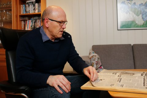 STARTET på 80-tallet: Det var tilbake i 1988 av Trygve Damkjær Syse fikk jobb i Hardanger Folkeblad. En av de første og siste sakene han skrev for avisa  handlet om kraftproduksjon.