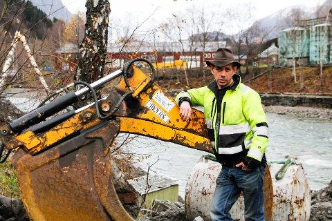 DELTOK I FARMEN: Leif Einar Lothe har på kort tid blitt rikskjendis og er aktuell både som deltaker i Farmen og med dokusåpen Fjorden Cowboys.