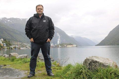 Ordfører: Roald Aga Haug. Arkivfoto: Eivind D. Sjåstad