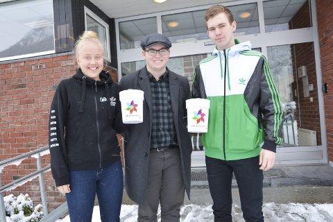 F.v: Mari Børve, Lasse Tverdal og Lars Høyland Opedal.