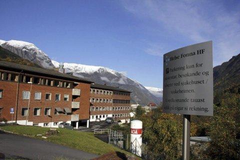 Odda sjukehus: Ein del av Helse Fonna.