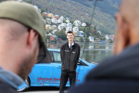 Hovudperson: Evald Jåstad og RS-taxien.