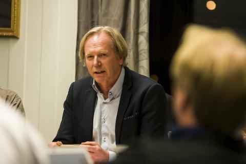 Ordførar: Jon Larsgard. Foto: Sondre L. Haukedal