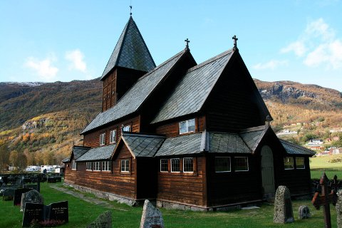 Illustrasjonsfoto: Røldal stavkirke.