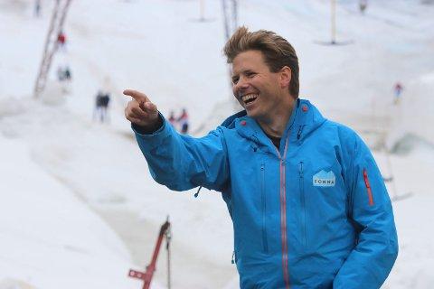 Andreas Skogseth, daglig leder i Visitfonna AS