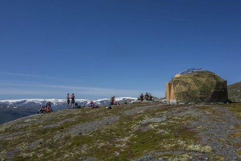 Arctic dome: Permanent telt. foto: Trolltunga active
