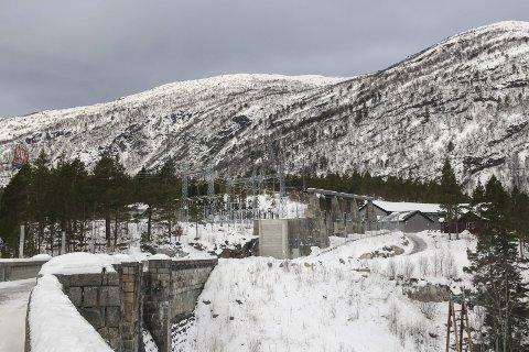 Her er det planlagt ny transformatorstasjon. Foto: Eivind Dahle Sjåstad