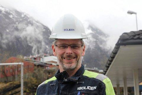 VIKTIG: Fagforeningsleder Gard Folkvord sier meldingen fra konsernstyret vil bli stående i historien som en av de aller viktigste noen gang for lokalsamfunnet og Ullensvang kommune.