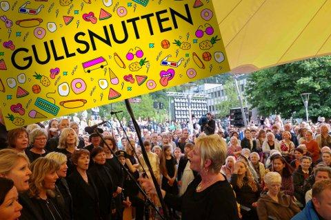 SHOW i ODDA: I august kjem det til å verta show i Almerkeparken. Då kjem nemleg Gullsnutten på besøk til Odda.