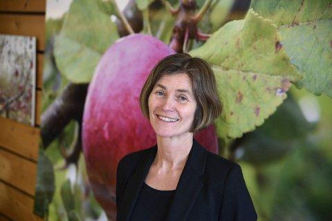 NIBIO: Gunnhild Jaastad ved NIBIO i Ullensvang seier det er knytt stor bekymring til rognebærmøllen i åra framover.