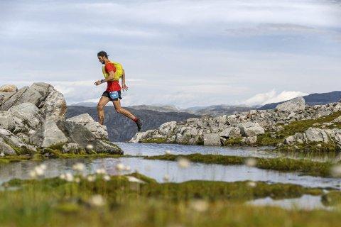Dynafit Hardangervidda marathon har heilt ny løype i år. Foto: Mikkel Beisner Photography