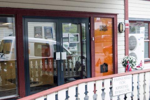 Samlar inn: Vinterklede til barn og unge kan leverast her, hjå Bymisjonen.arkivfoto: Sondre Lingås Haukedal