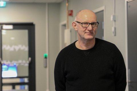 Geir Rønningen: Konstituert rektor ved Odda vidaregåande skule. Arkivfoto: Inga Øygard Jaastad