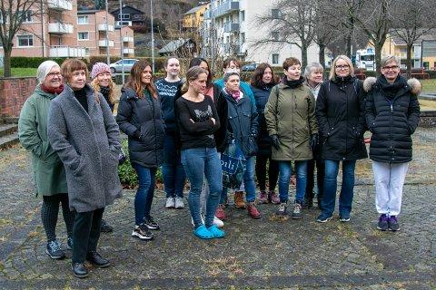 Tillitsvalgte og tilsette ved Odda sjukeheim, Bokko bo og behandlingssenter og heimesjukepleia i Odda.