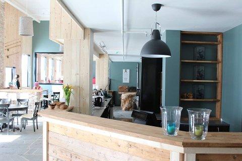 Restaurant og bar: Hustoft meiner det burde vere eit svært godt kundegrunnlag for å drive restauranten vidare.