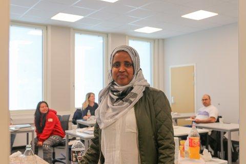Amina Mohamed Abbas  er en av elevene som nå har fullført Vg2 helsefagarbeider og har fått læreplass i Ullensvang kommune.