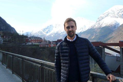Sebastian Garstecki, direktør på Tyssedal Hotel.