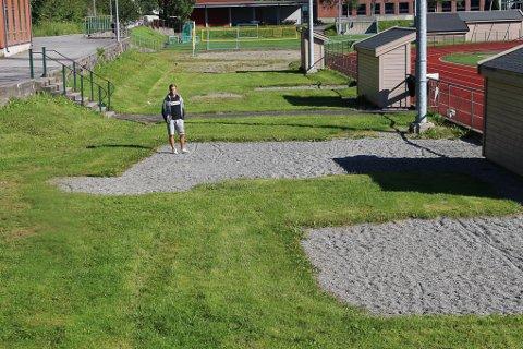 Jarle Øvsthus fikk for rundt et år siden ideen om å bygge aktivitetspark på Eide. Nå går grunnarbeidet snart i gang.