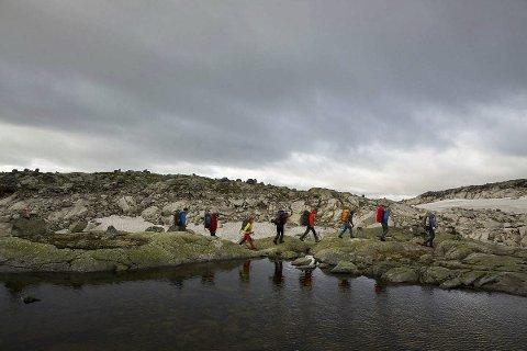 Hallingskeidveien. Foto: André Marton Pedersen