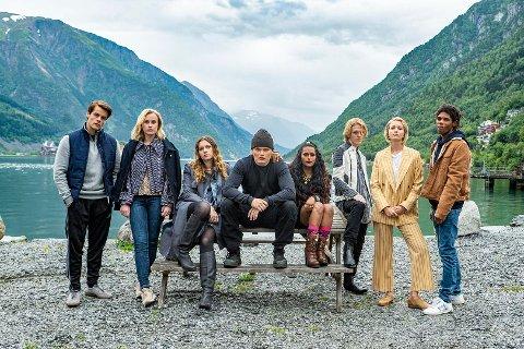Netflix og SAM Productions spiller i disse dager inn scener i Odda til sesong 2 av Ragnarok.